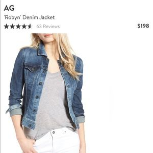 AG Robyn Jean Jacket, Small